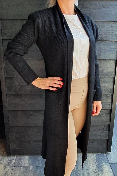Vest Casual Black