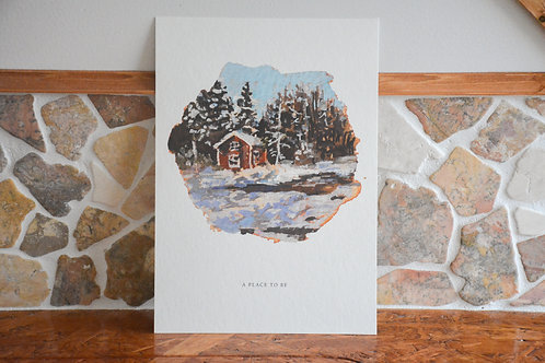 A PLACE TO BE | fine-art bamboo print