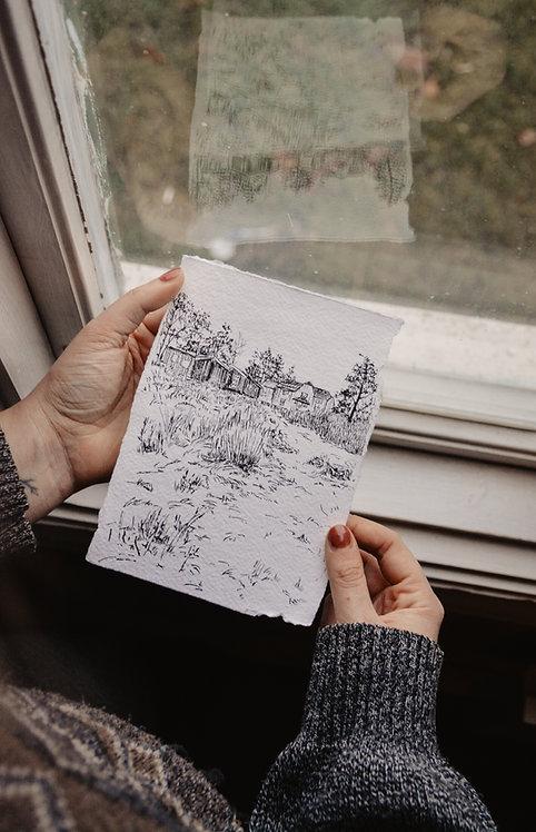 Original sketch | 6 months Art Subscription