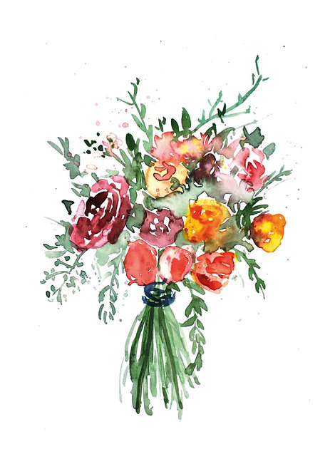 Loose bouquet | fine-art print