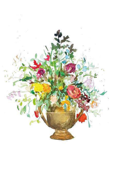 Flowerpot | postcard