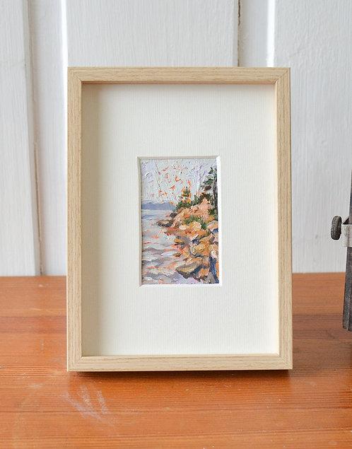 Custom tiny landscape | impressionistic oil painting
