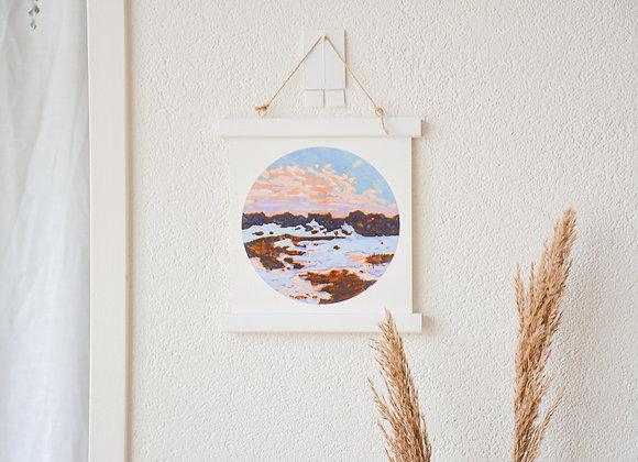 A cold sunrise | fine-art print