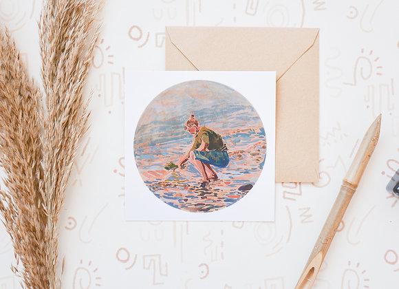 Return to nature | postcard + sticker