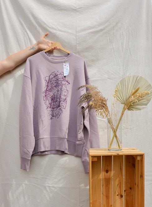 'Childlike wonder' sweater - unisex, eco & fairtrade