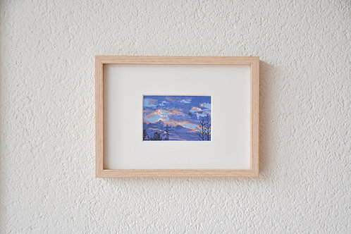 Sunset at home | Tiny original