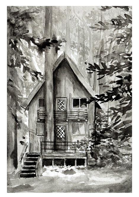 Treehome | postcard