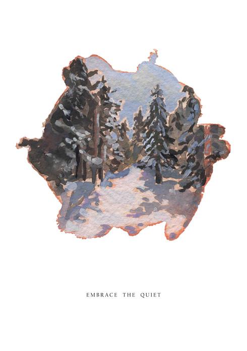embrace the quiet