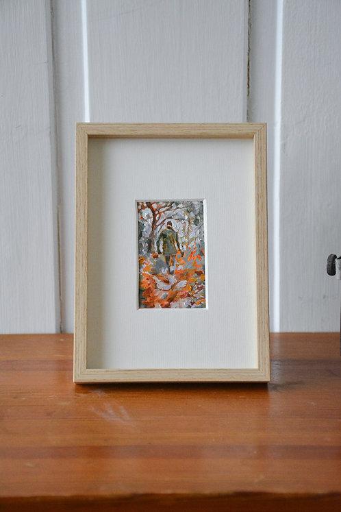 Childlike Wonder/origineel olieverfschilderijtje