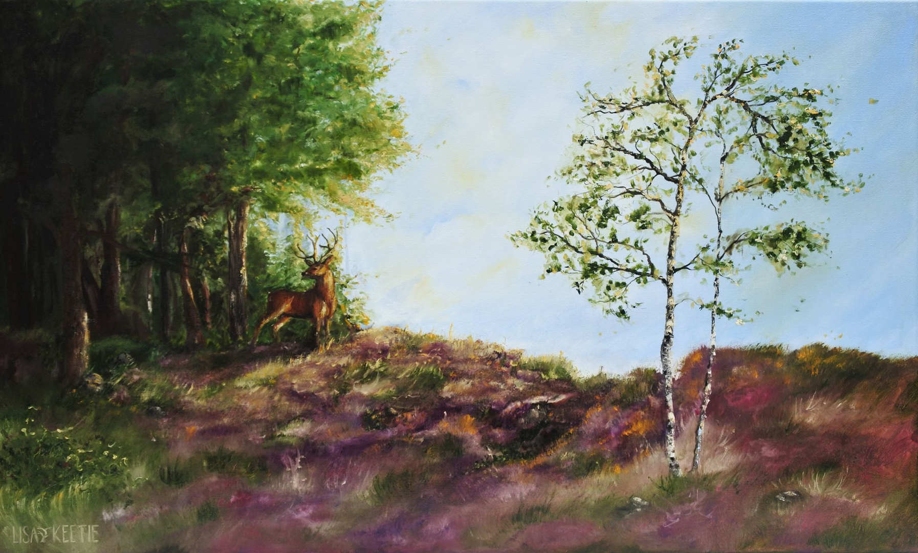 Veluwe (2016) commissioned oilpainting