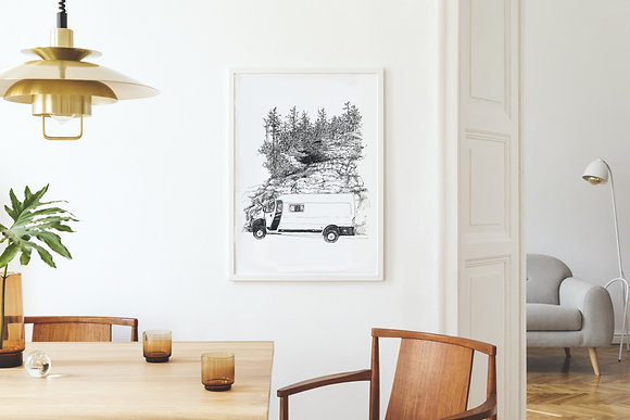 Lille My, a Study | fine-art print