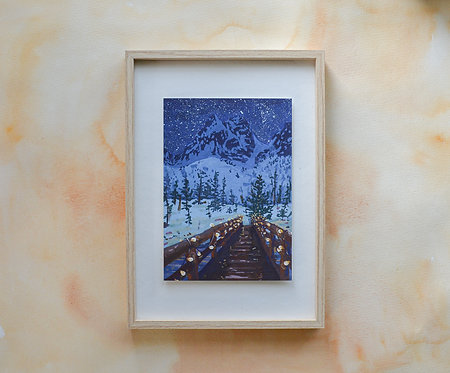 Come wander with me | fine-art bamboo print