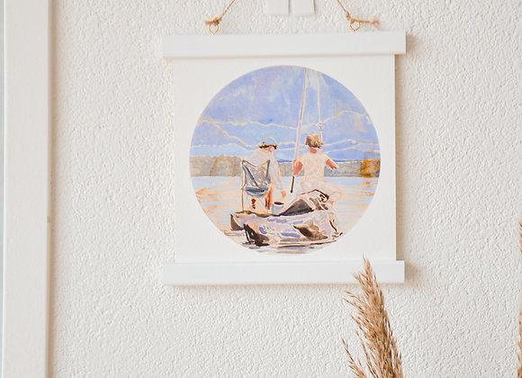 Our little island   fine-art print