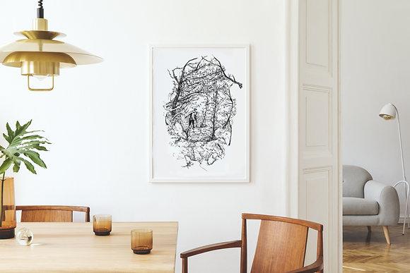 Childlike Wonder, a Study | fine-art print