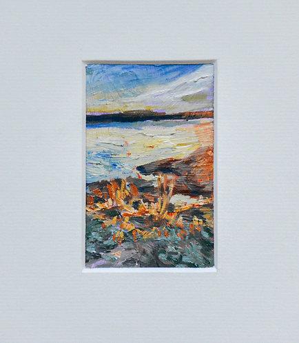 First Sun/origineel acryl&olieverfschilderijtje