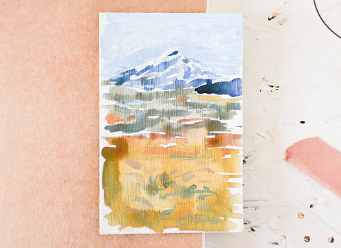 Abstract landscape | Tiny original