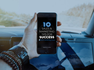 Sales & Marketing Tips for Success