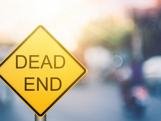 A Panster's Guide to the Dreaded Dead End