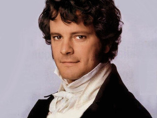 Thank-you Mr Darcy...