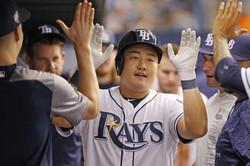 Choi hit solo home run