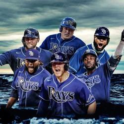 2020 Post Season TB Rays Poster
