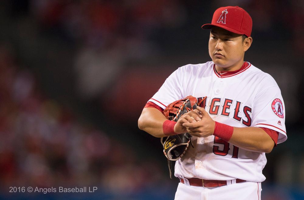 Ji-Man Choi @ 1st base