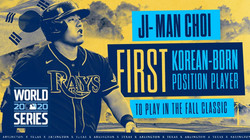 Ji-Man Choi made another history in MLB