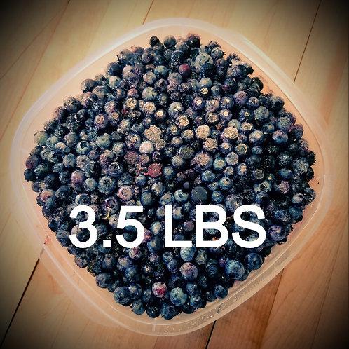 Frozen Wild Blueberries- 3.5 lbs