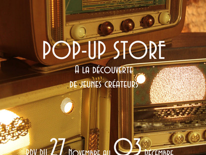 POP UP STORE DE NOEL