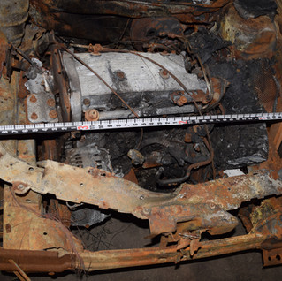 Vehicle Fire Origin Investigation