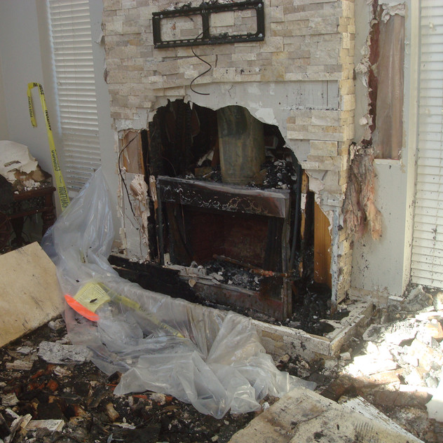 Structural Fire Origin Investigation