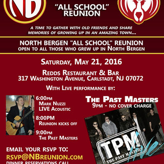 """""""All School"""" North Bergen Reunion set for May 21st"""