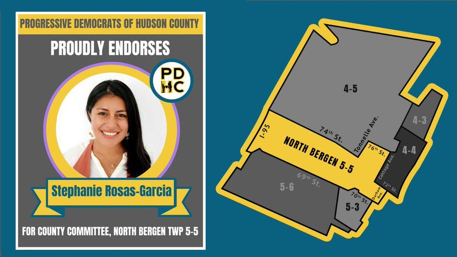 Progressive Democrats Endorse North Bergen Candidate