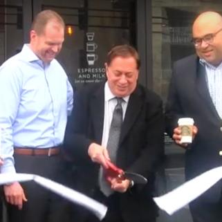 Drive thru Starbucks opens in North Bergen