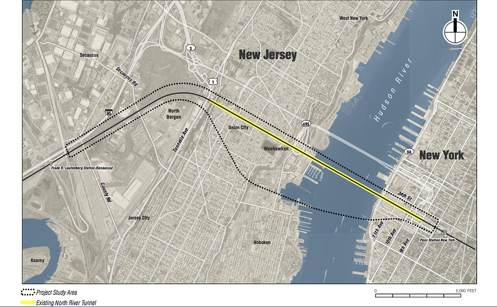 North Bergen Hudson Tunnel Project