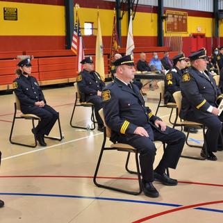 North Bergen Police Promotes 7 Officers