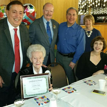 North Bergen resident, Catherine Payne, turns 100