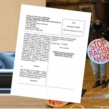 Freeholder Vainieri Files Restraining Order on ICE Protesters, Judge Limits Free Speech