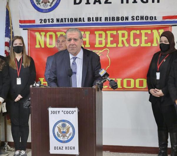North Bergen HS renamed Joey 'Coco' Diaz High