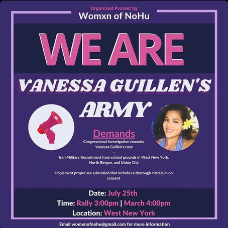 Local Woman's Group to Hold Rally for Vanessa Guillen