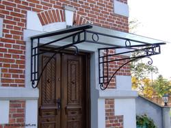 Zabytkowa wieża - wejście