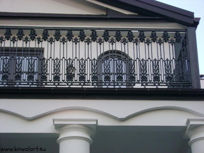 Balustrada Kwitnące kwiaty