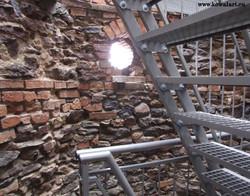 Zabytkowa wieża - wnętrze 2