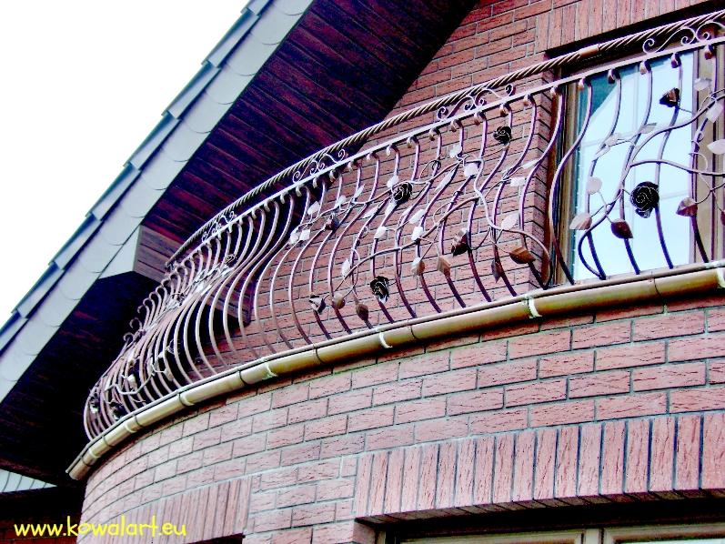 Balustrada Róże