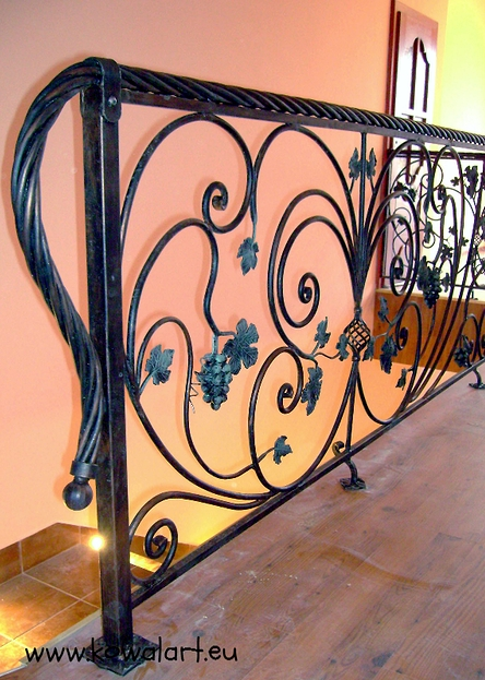 Balustrada Winnica