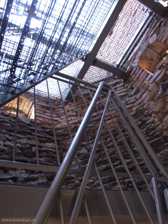 Zabytkowa wieża - wnętrze 4