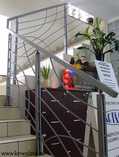 Balustrada Podróż samolotem