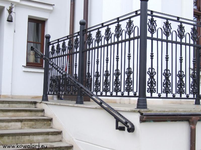 Balustrada Berło