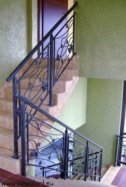Balustrada Winogrona
