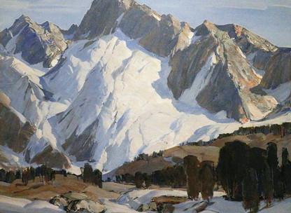 Paul Lauritz's Sierra Snowfields
